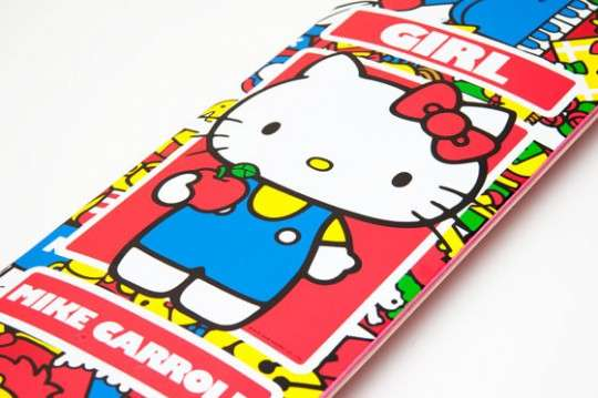 Hello Kitty 35th Anniversary Collection Skateboard