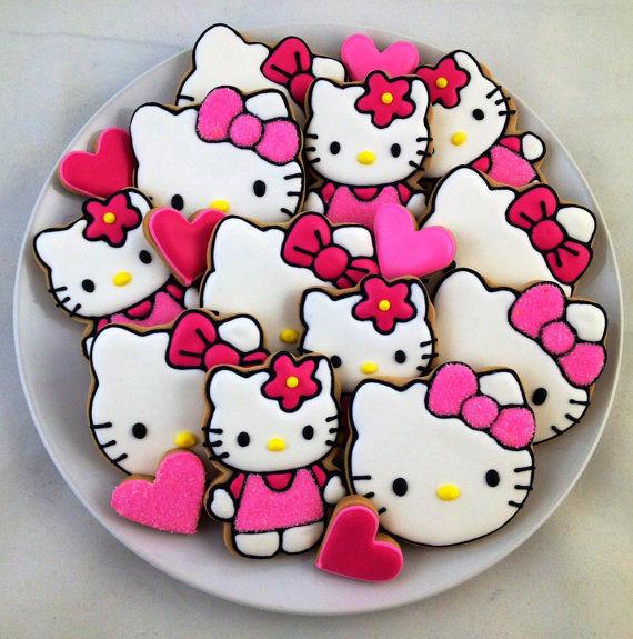 Cartoon Cat Desserts