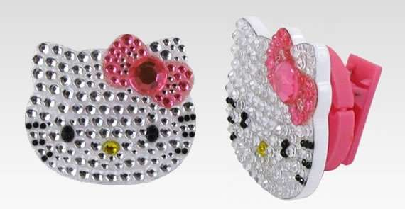 Hello Kitty Jewelry Earphone Holder