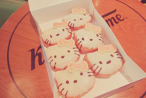 Hello Kitty Krispy Kreme
