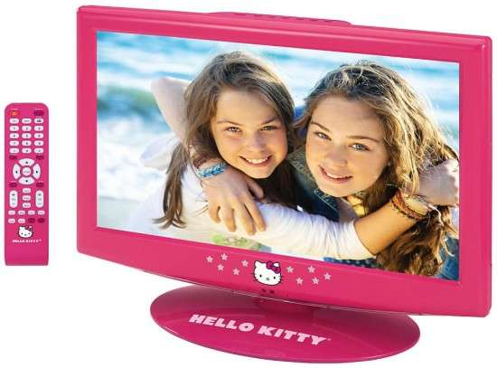 Hello Kitty LCD TV