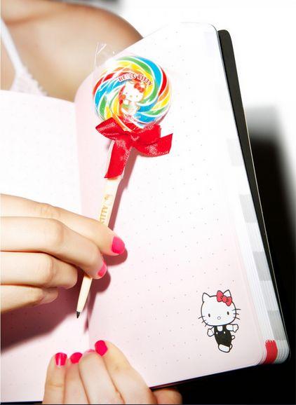 Feline Lollipop Pens
