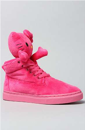 Plush Toy Feline Shoes