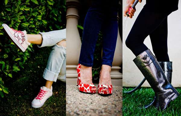 Feminine Feline Footwear
