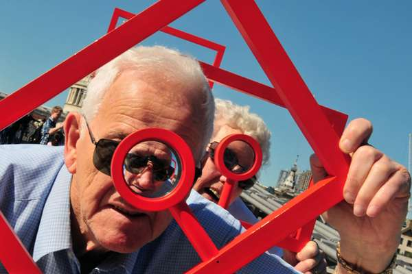 Magnifying Public Installations