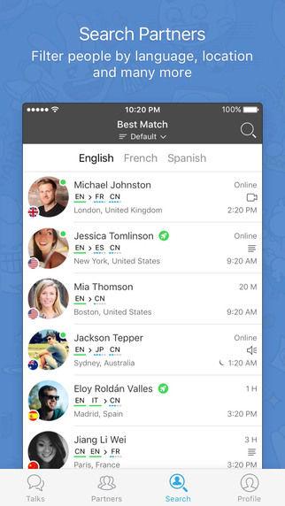 Language Exchange Apps