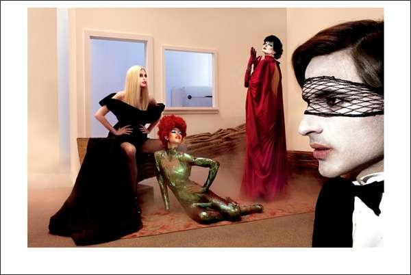 Fellini-Inspired Fantasy Photoshoots