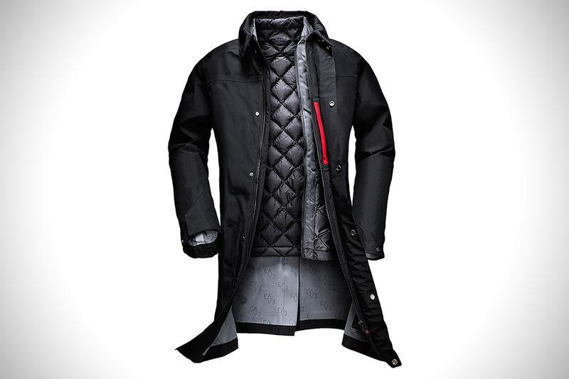 Weather-Repellent Business Coats