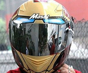 Superhero Motorcycle Helmets