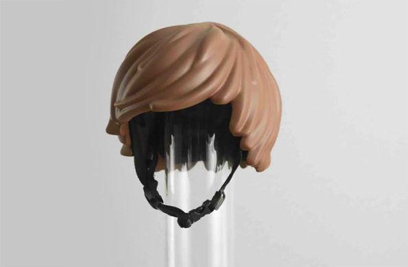 LEGO Hair Helmets