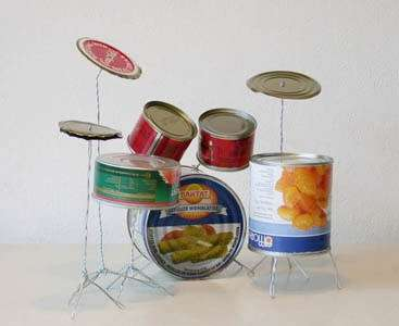 Tin Can Drum Kits