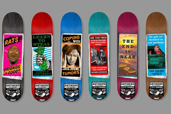 Satirically Therapeutic Skateboards