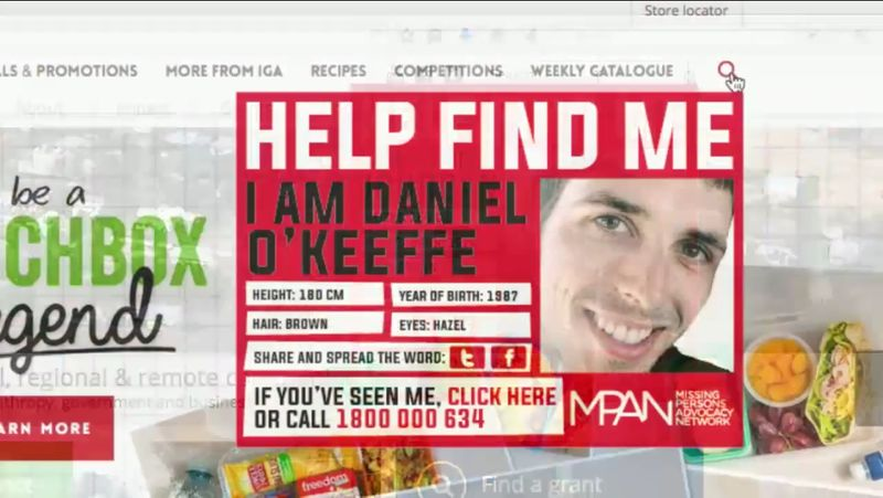 Missing Persons Search Bars : Help Find Me