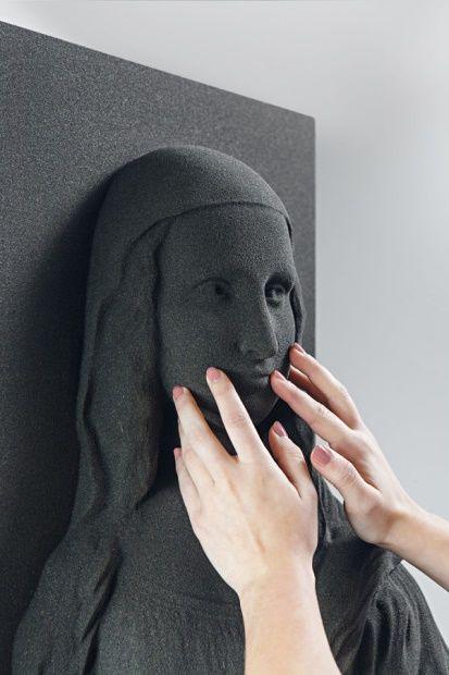 Tactile 3D-Printed Artworks