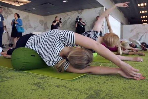 Airport Yoga Classes