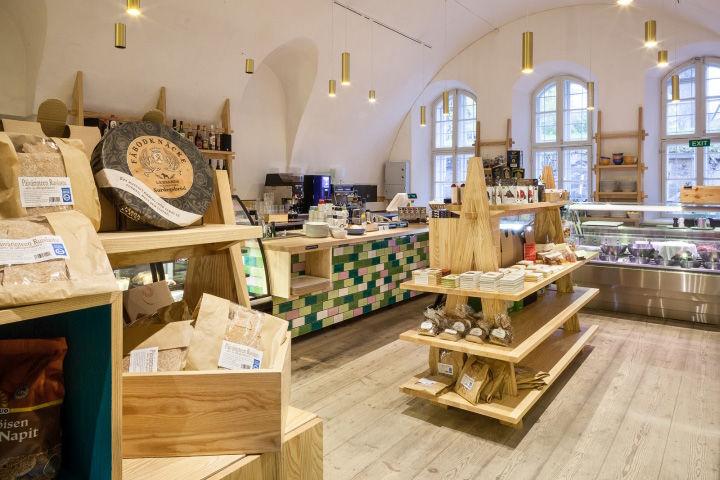 Old World Delicatessan Interiors Helsinki Cafe