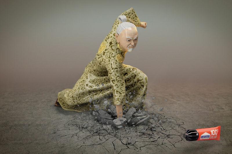 Fierce Figurine Ads