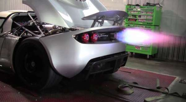 Fire-Spewing Supercars