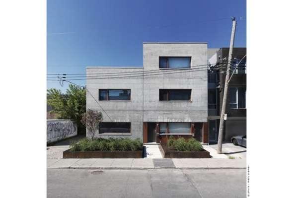 Concrete Cubist Abodes