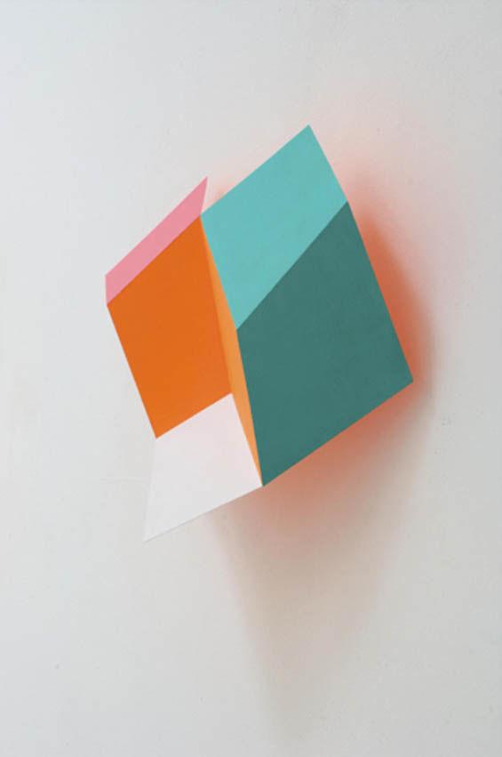 Geometric Trompe L'Oeil Installations