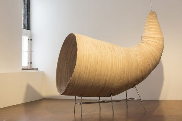 Upcycled Horn-Like Sculptures
