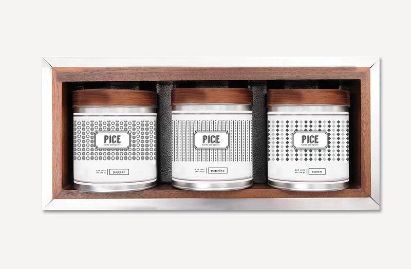 Ultramodern Herb Packaging