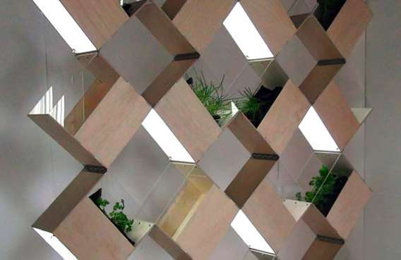 Squeezebox Planter Partitions