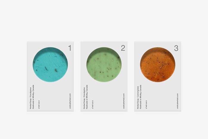 See-Through Soap Branding