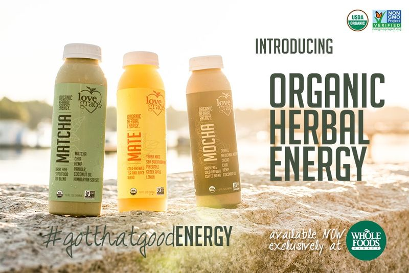 Caffeinated Superfood Beverages