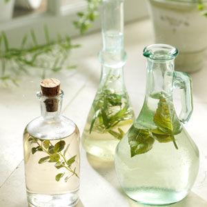 DIY Herbal Vinegars