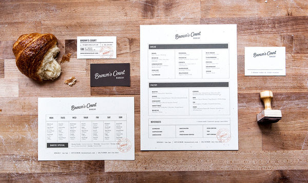 Southern Rustic Bakery Branding
