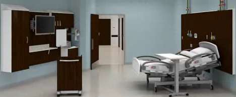 Minimalist Hospital Rooms