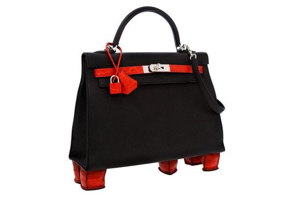 Fierce Footstand Handbags