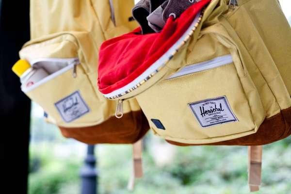 Fashionably Layered Backpacks