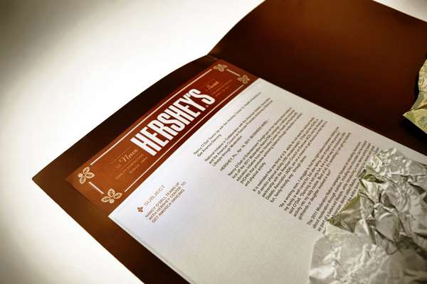 Hersheys Press Kit