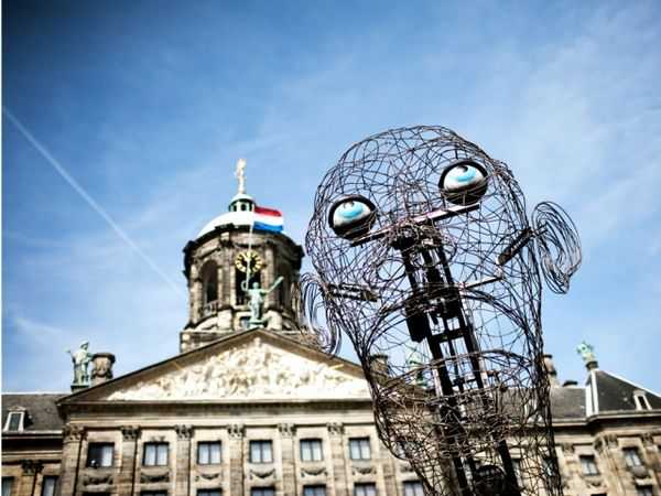 Personified Wireframe Sculptures