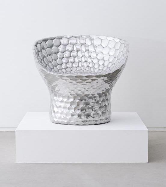 Silverized Honeycomb Seats