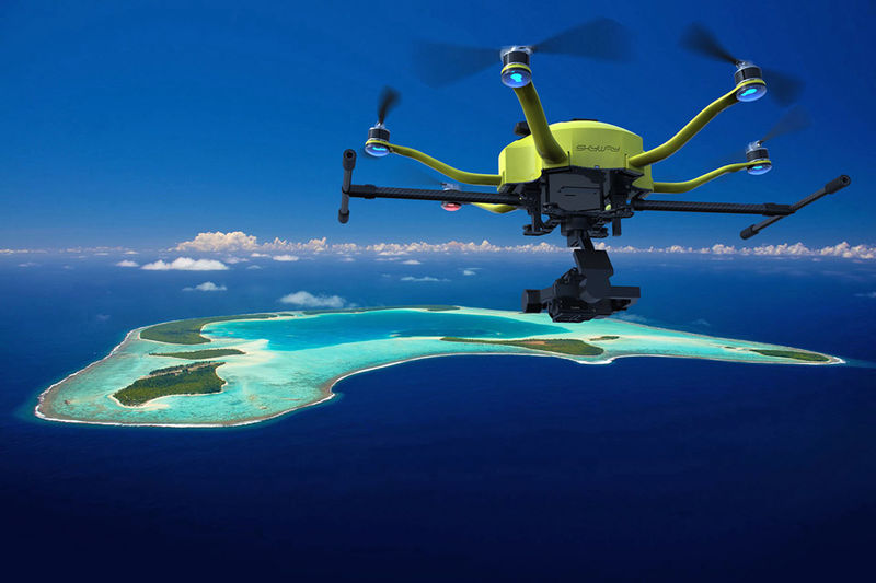 Hexacopter Videography Drones