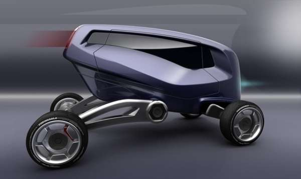ATV-Inspired Concept Cars