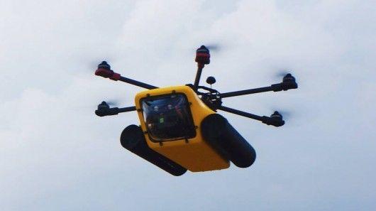 Amphibious Camera Drones