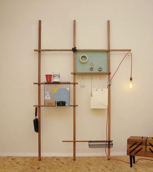 Quirky Custom Shelving