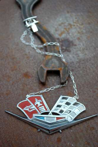 Jewelry from Recycled Car Parts