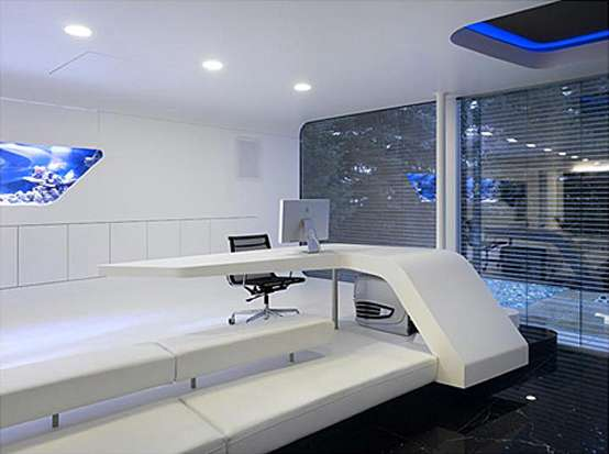 Futuristic Hi-Tech Homes