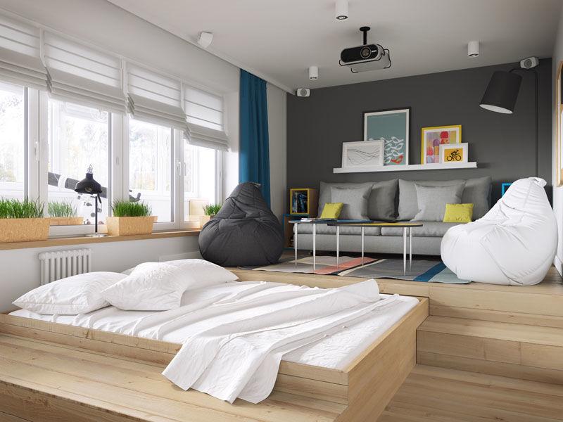 Hidden Bed Apartments