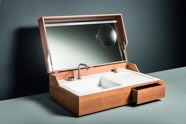 Covert Hidden Suitcase Sinks