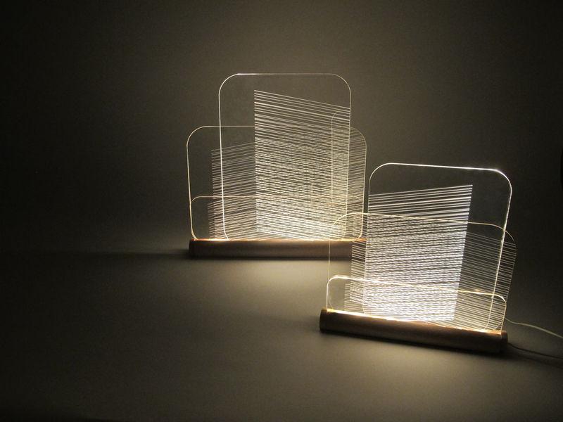 Sculptural Abstract Lighting