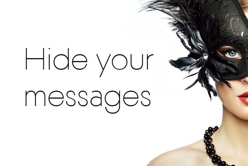 Message-Concealing Apps