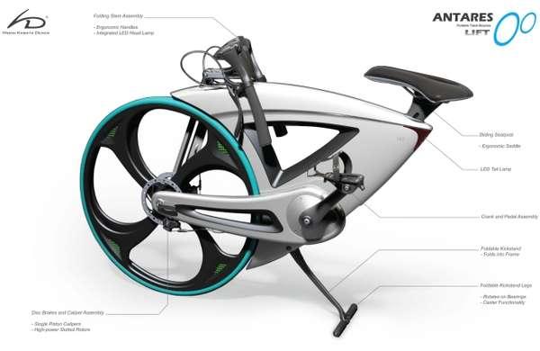 Mollusk-Shaped Bikes