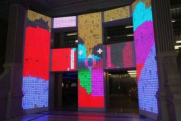 Interactive Emotion-Sensing Buildings