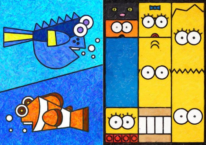 Cartoon-Infused High Art